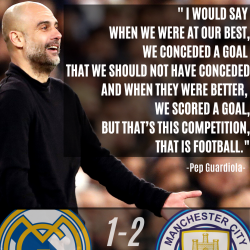 Pep Guardiola UEFA Champions League Quote
