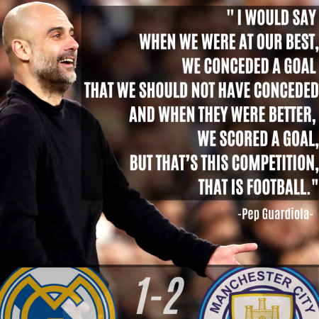 Pep Guardiola UEFA Champions League Quote