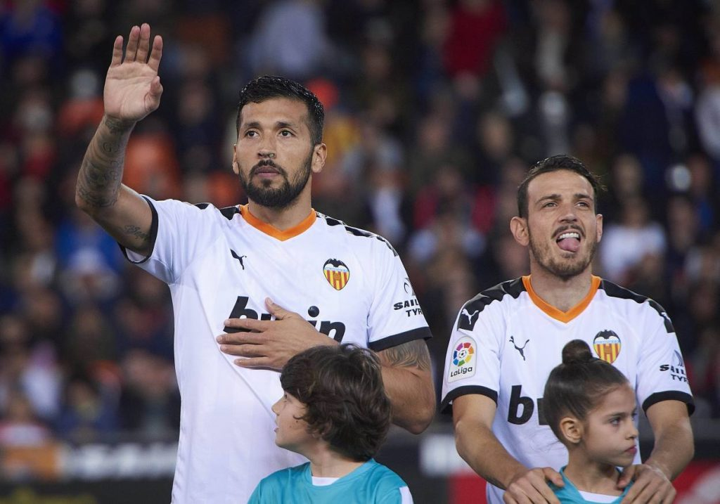 Ezquiel Garay FC Valencia Corona