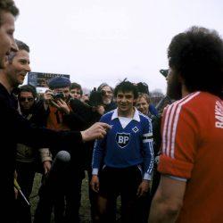 Hamburger SV - FC Bayern München 21. März 1981