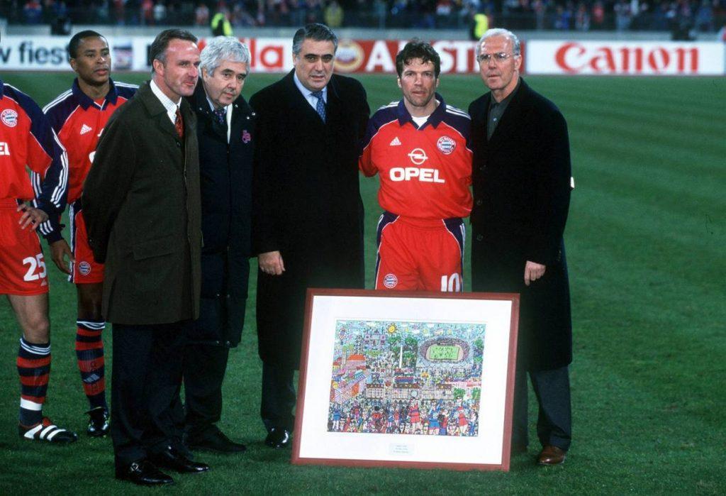 Lorenzo Sanz FC Bayern München Real Madrid März 2000