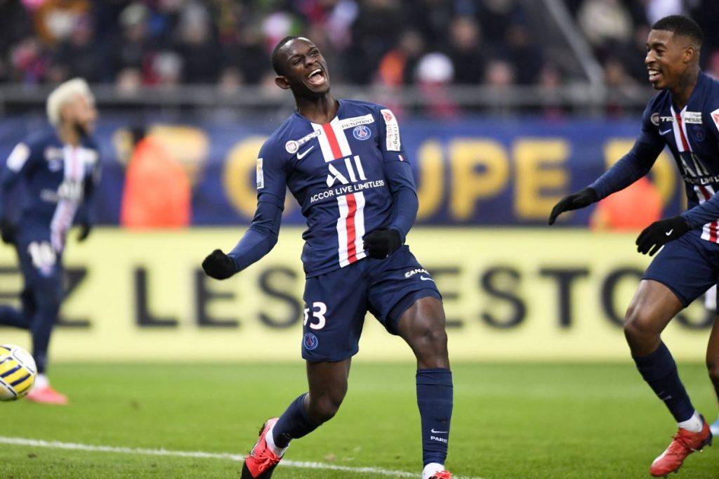 Tanguy Kouassi PSG vs. Reims