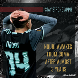 Nouri wakes from coma