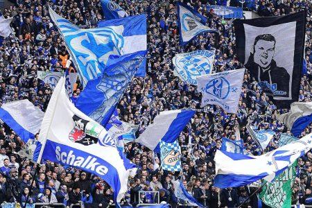 Fans, Schalke, Fahnen