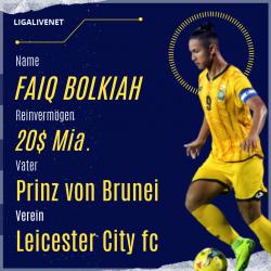 Faiq Bolkiah Der Reichste Fußballer