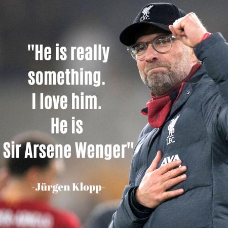 Jürgen Klopp Arsene Wenger