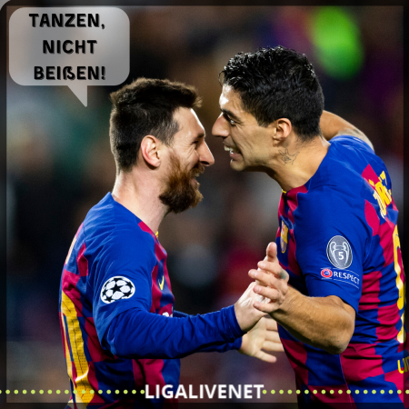 Messi Suarez meme