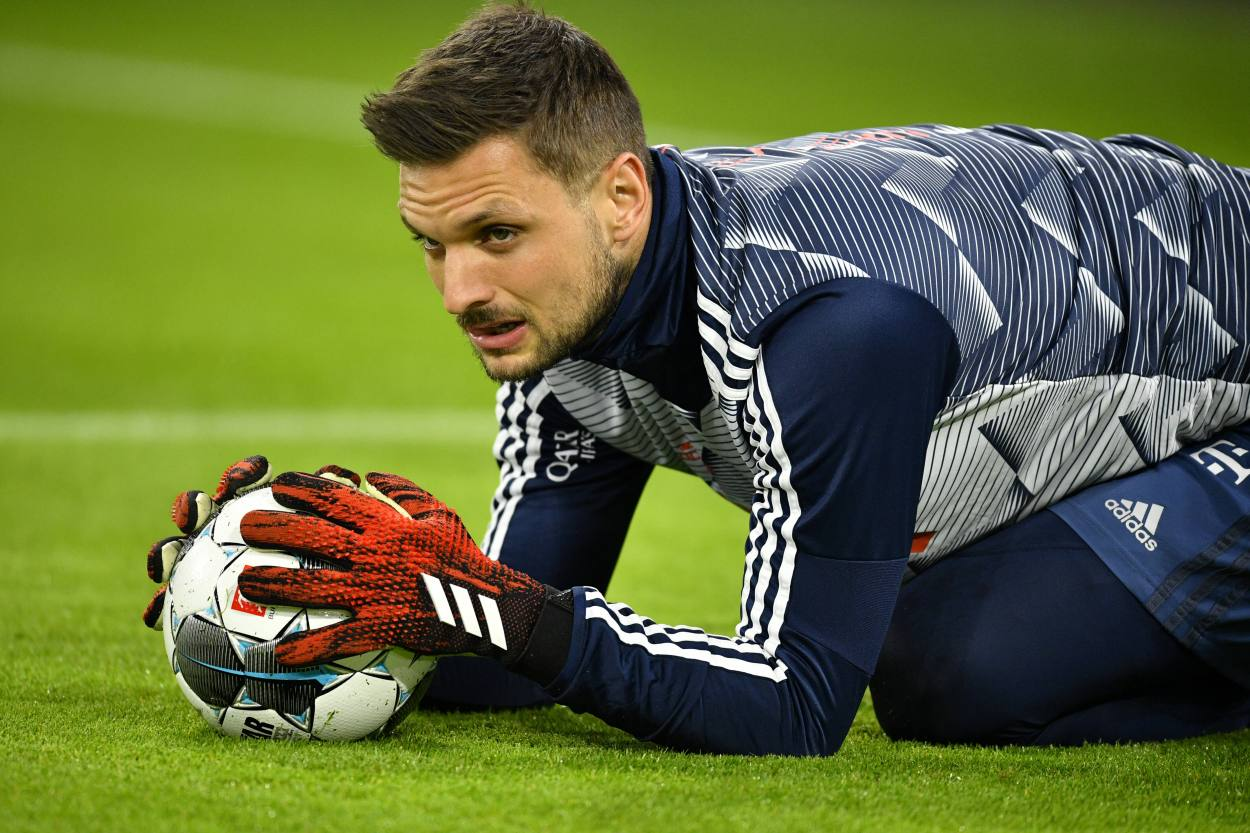 Bayern-Keeper Sven Ulreich ist angeblich beim FC Augsburg im Gespräch. Details zu einem Wechsel gibt es aber nicht ...