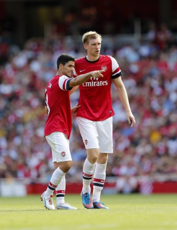 Arsenal academy director Per Mertesacker predicts bright future of the club under the management of his former teammate Mikel Arteta.