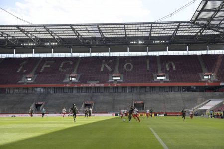 With empty stands, training masks and social distancing measures, Bundesliga become first European league to return amid Corona crisis.