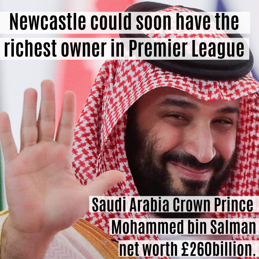 Newcastle takeover by Saudi Arabia prince