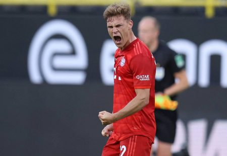 The Bundesliga classic ended 1:0 in favor of visitors as Joshua Kimmich's chip from outside the penalty box won the tie for Bayern.