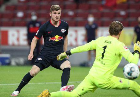 Timo Werner 1. FC Köln - RB Leipzig