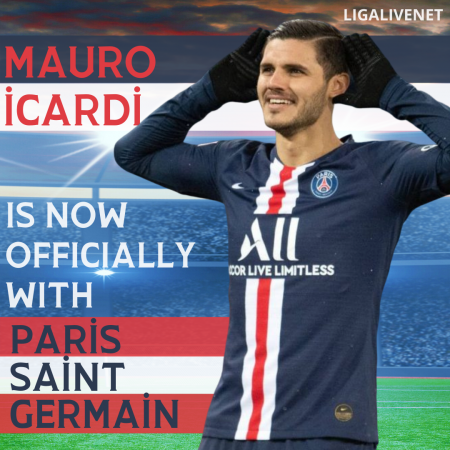 Icardi officially signs with PSG