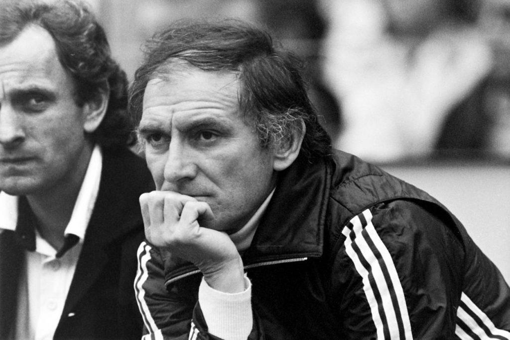 Branko Zebec, hier mit seinem Assistenten Aleksandar Ristic (l.), galt beim Hamburger SV als absolut autoritärer Trainer.