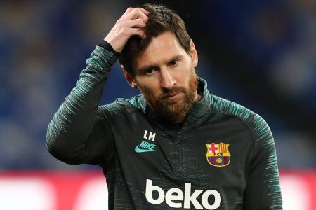 No Lionel Messi in training for La Liga leaders as FC Barcelona are preparing for the Mallorca clash, scheduled on June 13.
