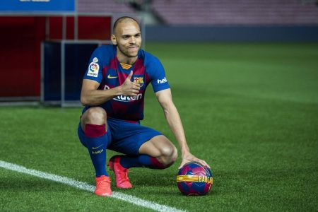 Braithwaite learning at Barcelona