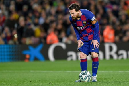 Lionel Messi joins teammates in the training after quadriceps injury and La Liga leaders hopeful that the superstar will be available for Mallorca clash.