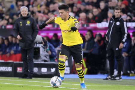Lucien Favre speaks about the importance of Jadon Sancho after his side beat Hertha Berlin by 1:0 and cemented 2nd position in the Bundesliga.