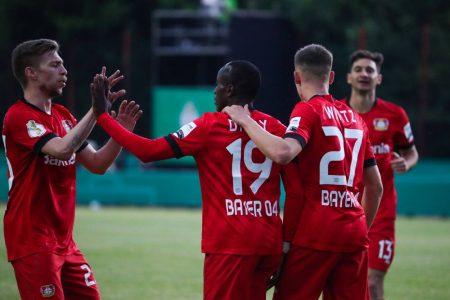 FC Saarbrücken Bayer Leverkusen DFB-Pokal-Halbfinale