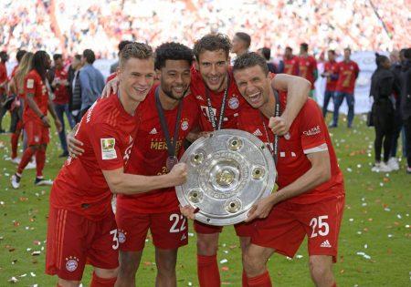 FC Bayern, Meisterschaft, Schale