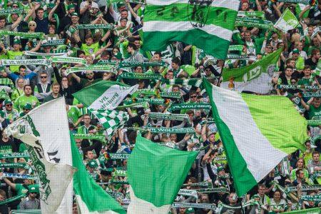VfL Wolfsburg Fahne