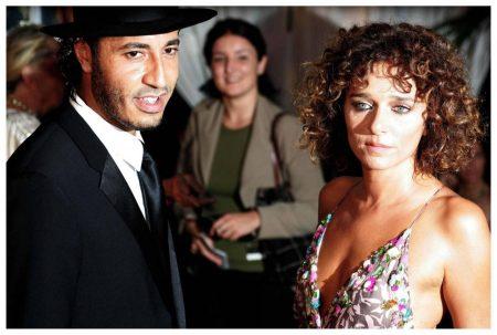 Der Sohn des Diktators: Al-Saadi Gaddafi genießt mit seiner Ehefrau Valeria Golino 2005 bei den Filmfestspielen in Venedig das Leben eines Jet-Setters.