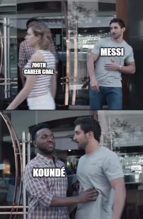 Messi 700th goal meme