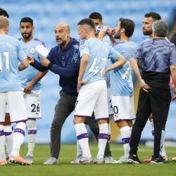 Pep Guardiola Manchester City FC Burnley