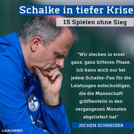 Schalke in tiefer Krise