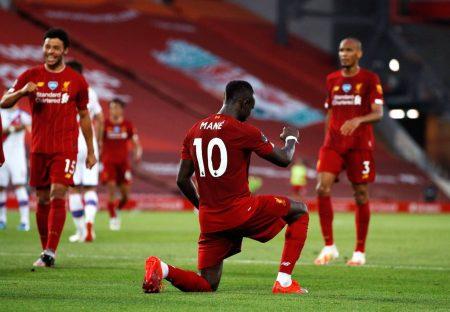Sadio Mané FC Liverpool Crystal Palace