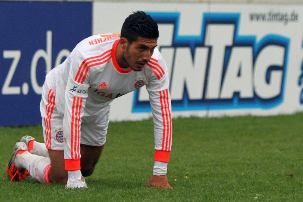 Emre Can spielte beim FC Bayern oft auch in der Regionalliga-Mannschaft.