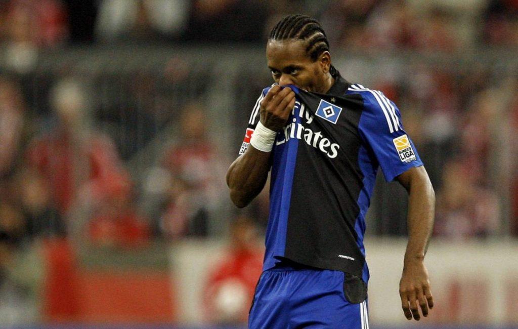 Zé Roberto wirkte beim HSV unglücklich.