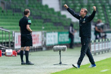 Kohfeldt, Bremen, Trainer-Stimmen zum 34. Spieltag der Fußball-Bundesliga