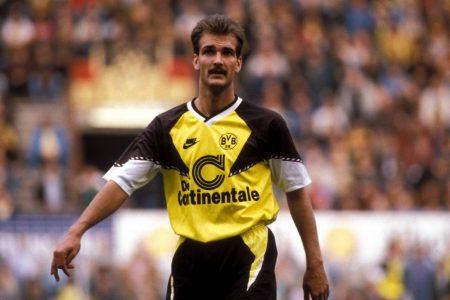Günter Breitzke spielte bis 1992 in Dortmund.