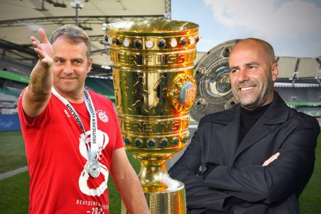 Hansi Flick, Peter Bosz, Bayern München, Bayer Leverkusen