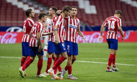 Alvaro Morata scored twice as Atletico Madrid beat Mallorca by 3-0. Time ticking away for Mallorca as they are sitting 18th in La Liga.