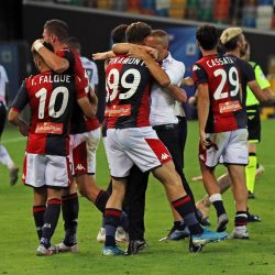 Genoa CFC determined to extend their stay in Italian top-flight after come-back win against Udinese. Genoa are two points clear from the relegation spot.