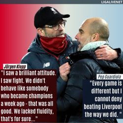 Pep an Klopp quotes