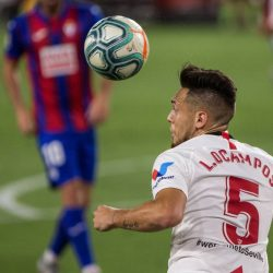 Lucas Ocampos scored the winner as Sevilla beat 17th-placed Eibar by 1-0. SFC are now 6 points clear at 4th place in La Liga.