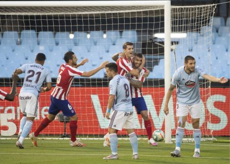 Alvaro Morata scored just 51 seconds in to the game - fastest goal of the season - as point shared between Atletico Madrid and Celta Vigo.