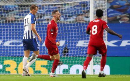 Brighton FC Liverpool Jordan Hendrson