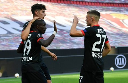 Europa League, Leverkusen, Diaby, Havertz, Wirtz